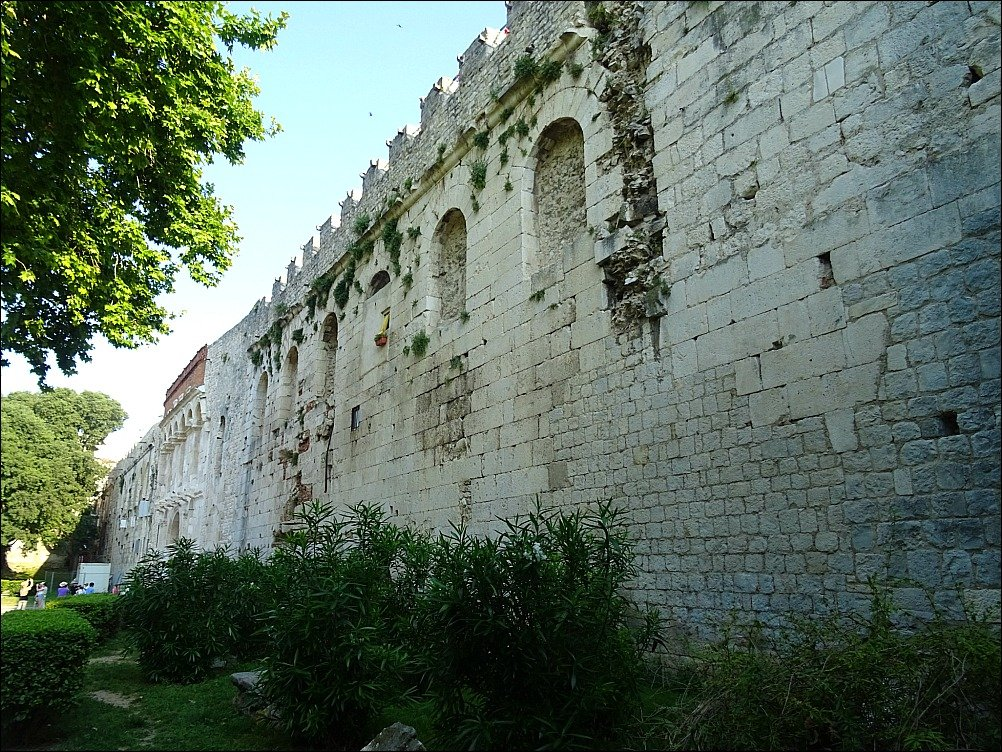 Split Diocletians Palace Northern Wall