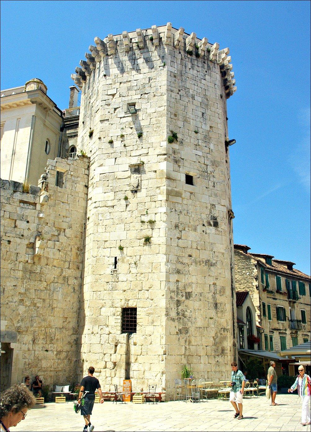 Venetian Tower Fruit Square Split Croatia