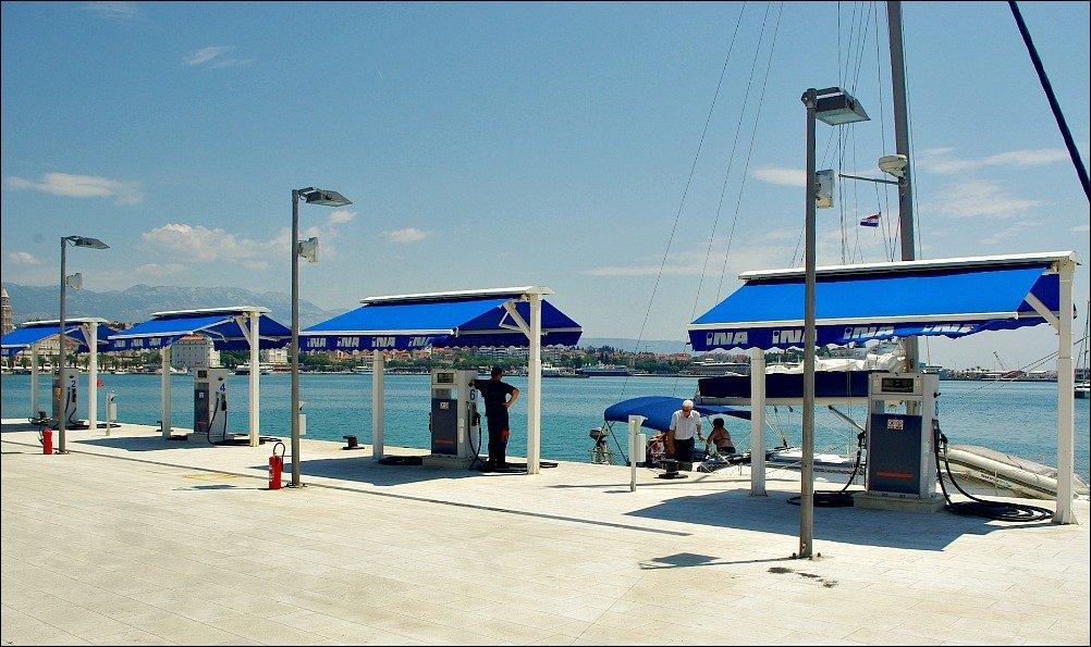 Marine Fuel Station Split Croatia