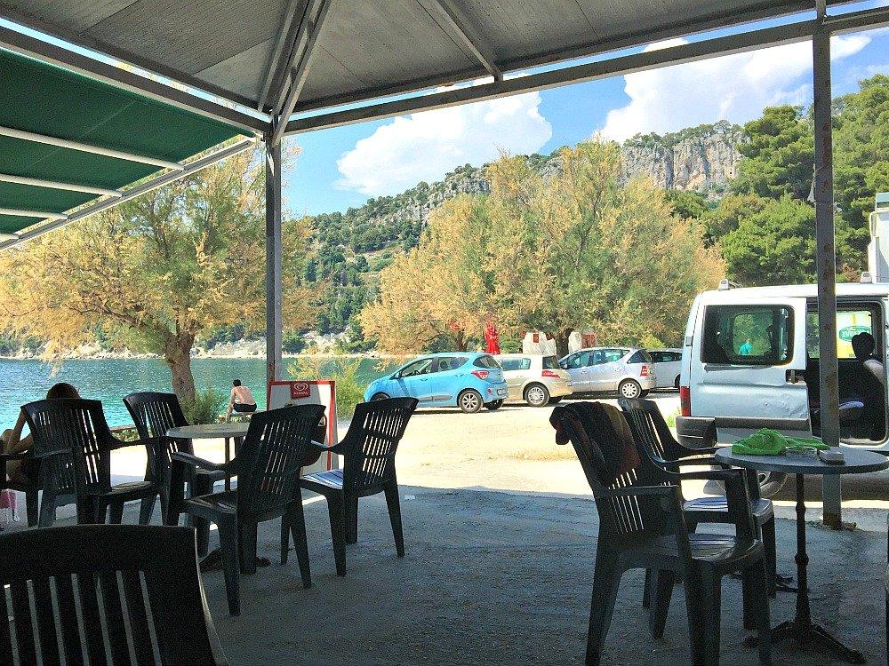 Marjan Park Casual Beach Cafe Split Croatia