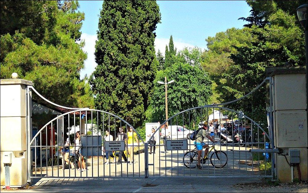 Marjanska Vrata forest park gates Split