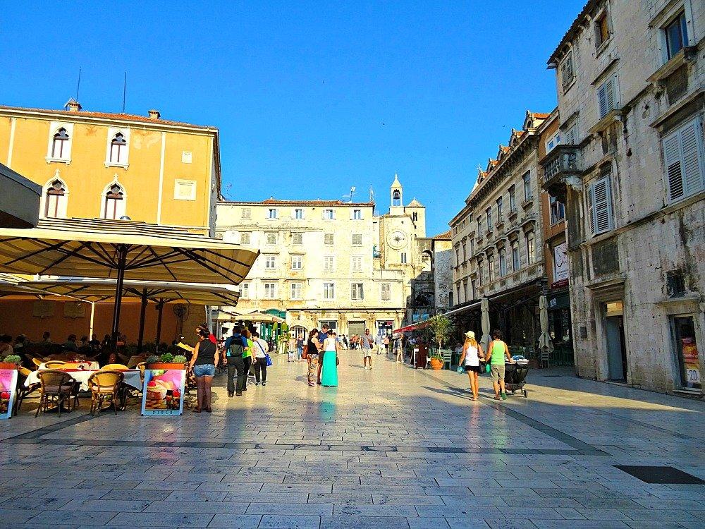 Narodni Trg Split Croatia