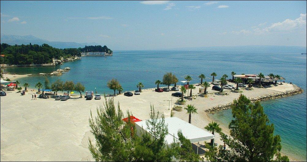 Obojena Svjetlost Beach Marjan Peninsula Split Croatia