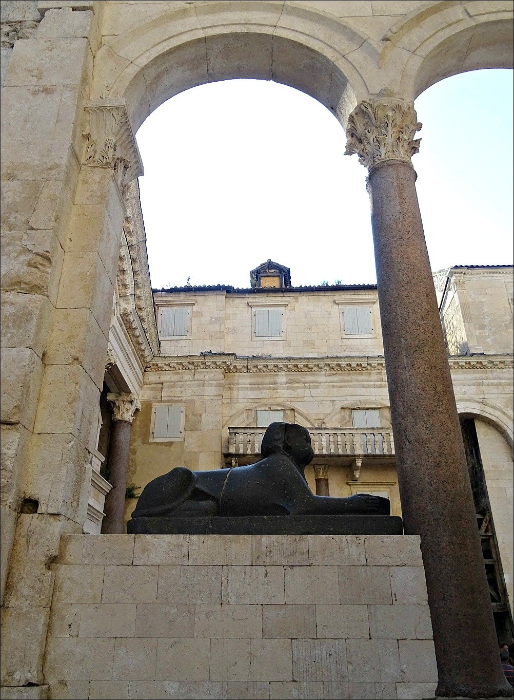 Diocletians Palace Sphinx