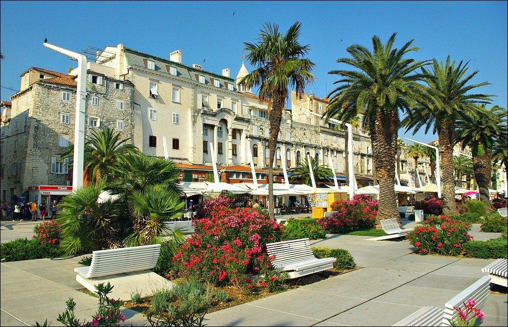 The Riva at Split Croatia