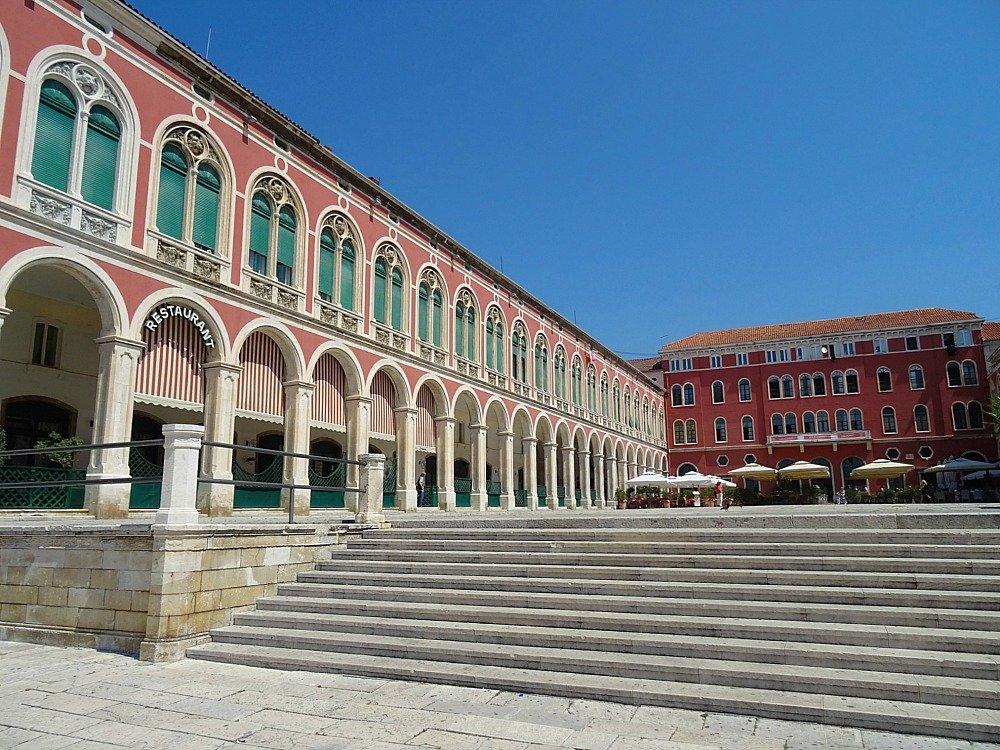 Prokurative or Republic Square Split Croatia