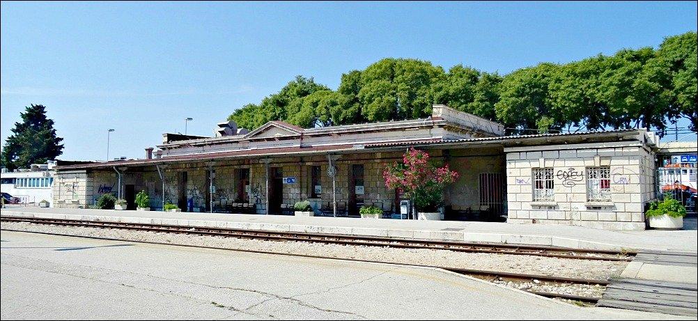 Train Station Split Croatia