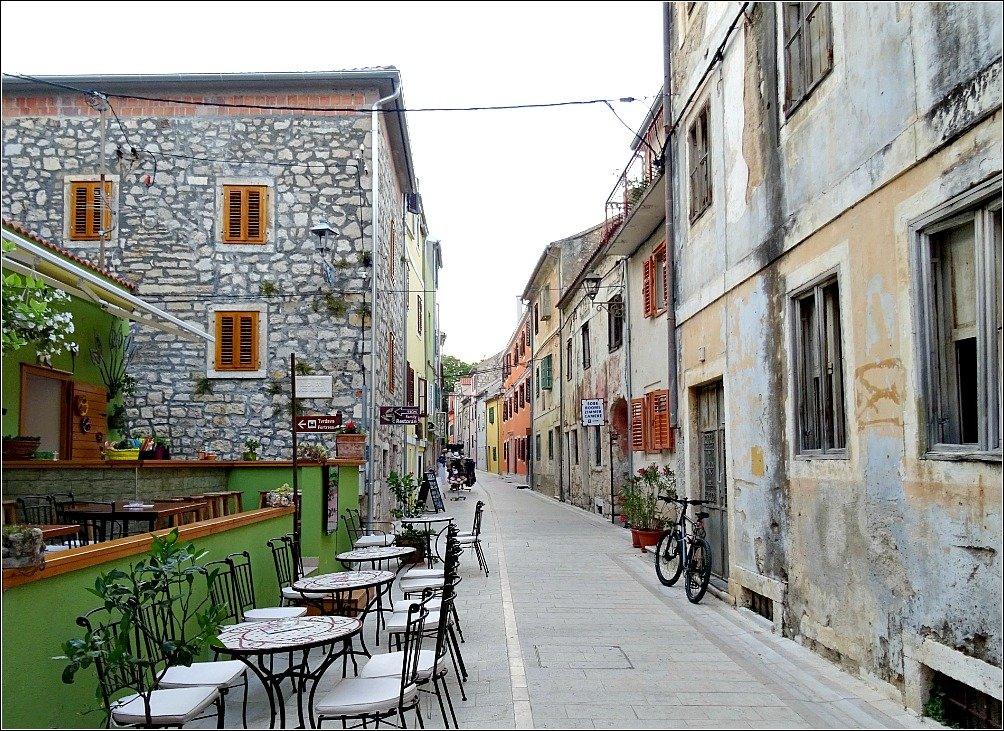 Streets of Skradin Croatia