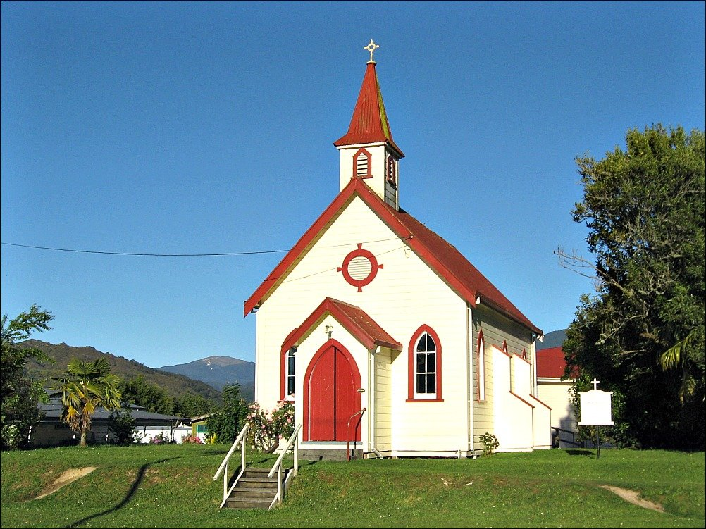 Anglican Church of St. Paul's Murchison, New Zealand