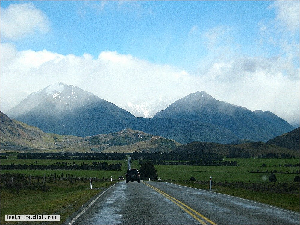 Arthurs Pass in the South Island of New Zealand