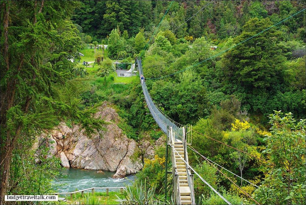 Buller Gorge Swing Bridge and Zip Line New Zealand