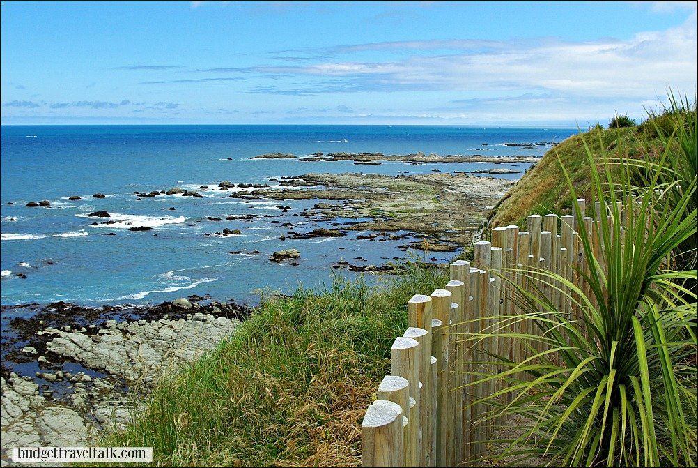 Kaikoura in the South Island of New Zealand