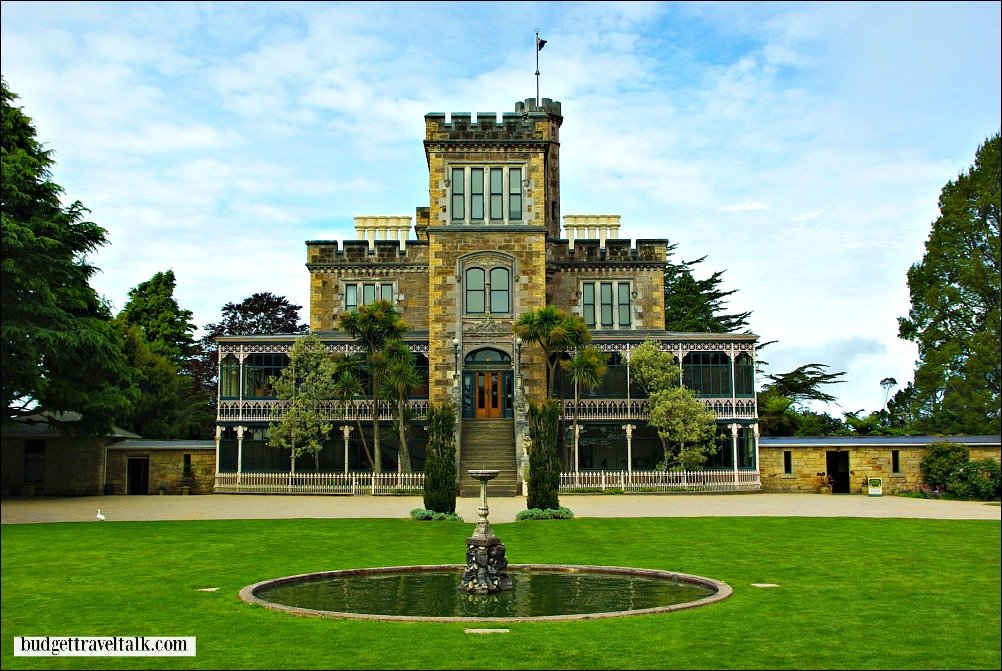 Larnach Castle Otago Peninsula New Zealand