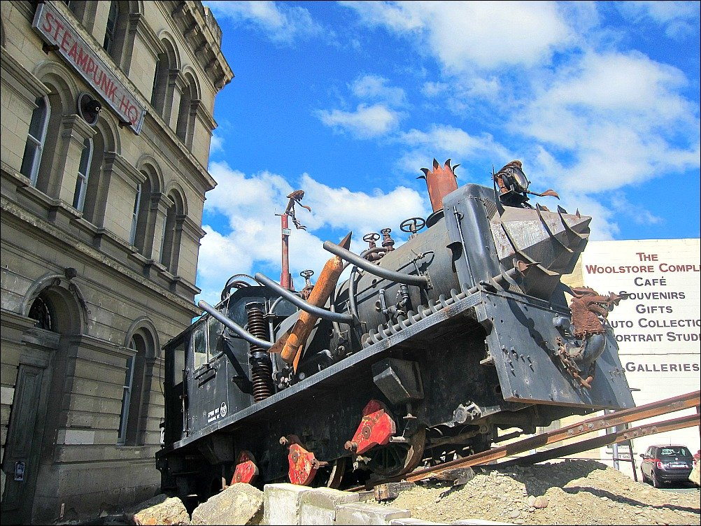 Oamaru Steampunk New Zealand