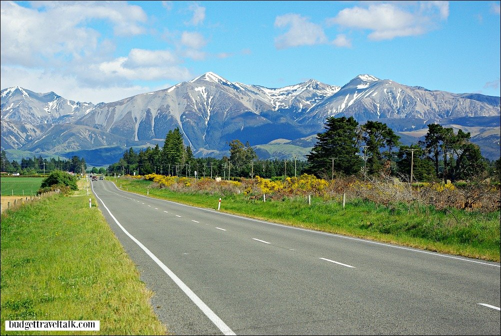 State Highway 73 to Arthurs Pass New Zealand