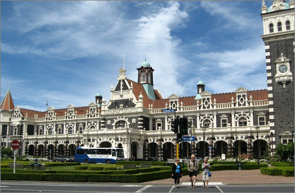 Dunedin Railway Station New Zealand
