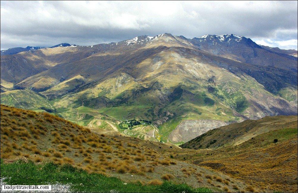 Crown Range Wanaka to Arrowtown New Zealand's South Island