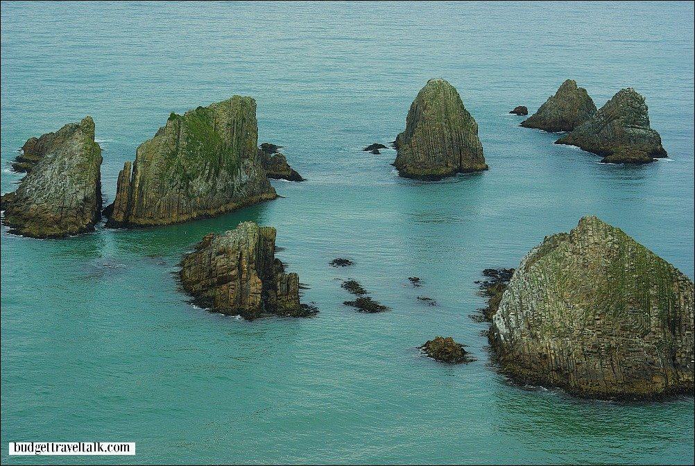 Nuggets at Nugget Point New Zealand