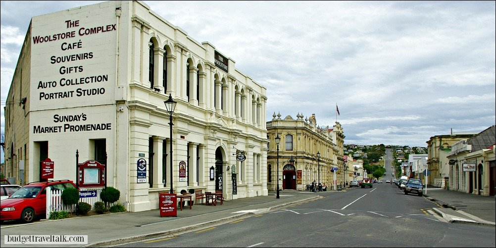 Oamaru New Zealand Victorian Buildings