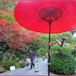 Ishiyama-dera Temple near Lake Biwa for Autumn Foliage Japan