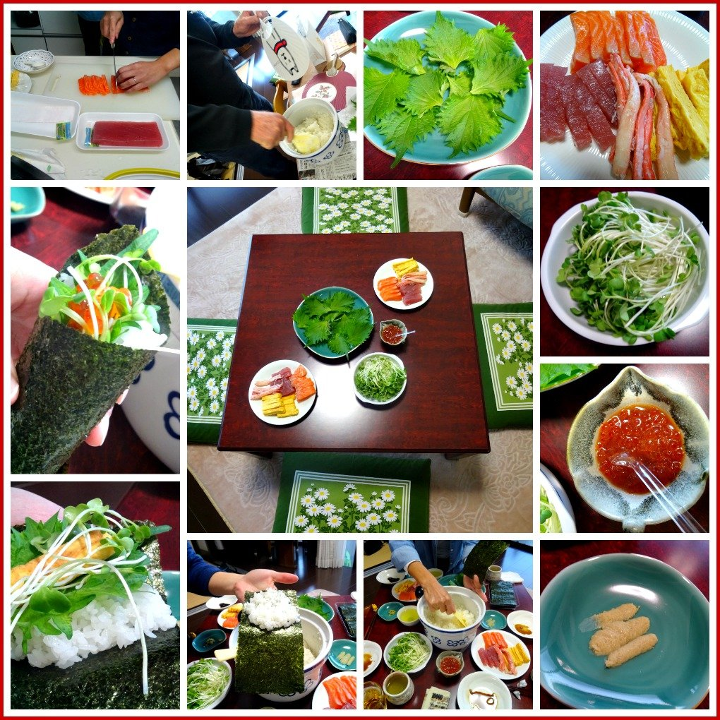 Japanese Sushi Making