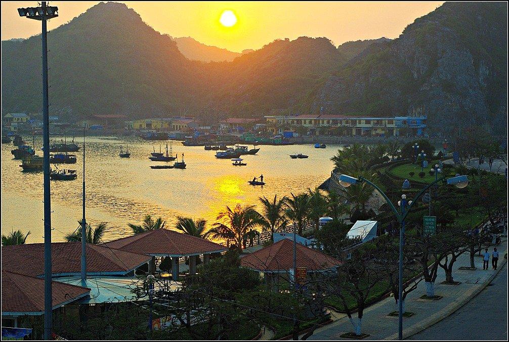 Cat Ba Island Sunset, Vietnam