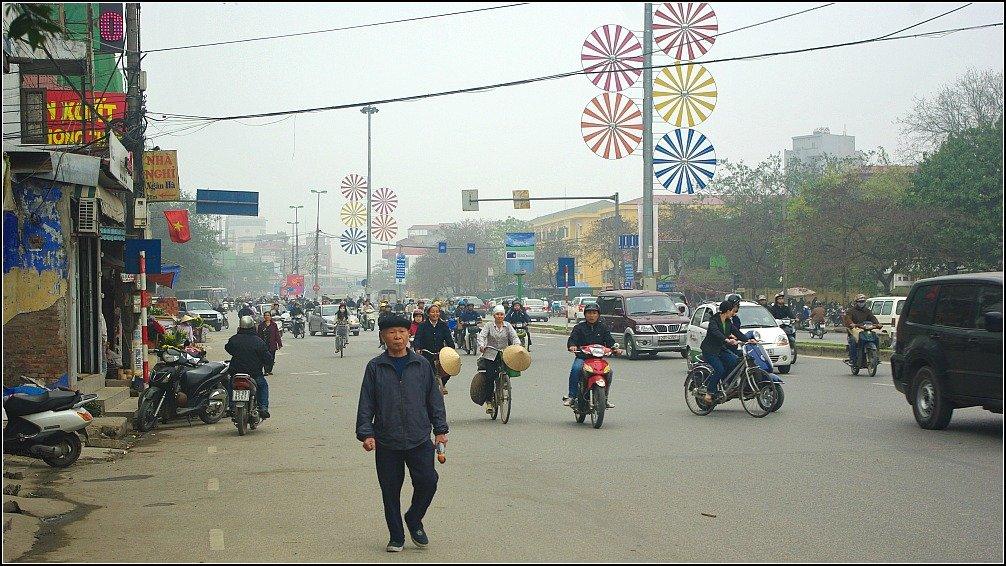 Hanoi Traffic Vietnam