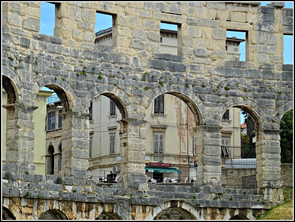 Pula Arena Cafe View