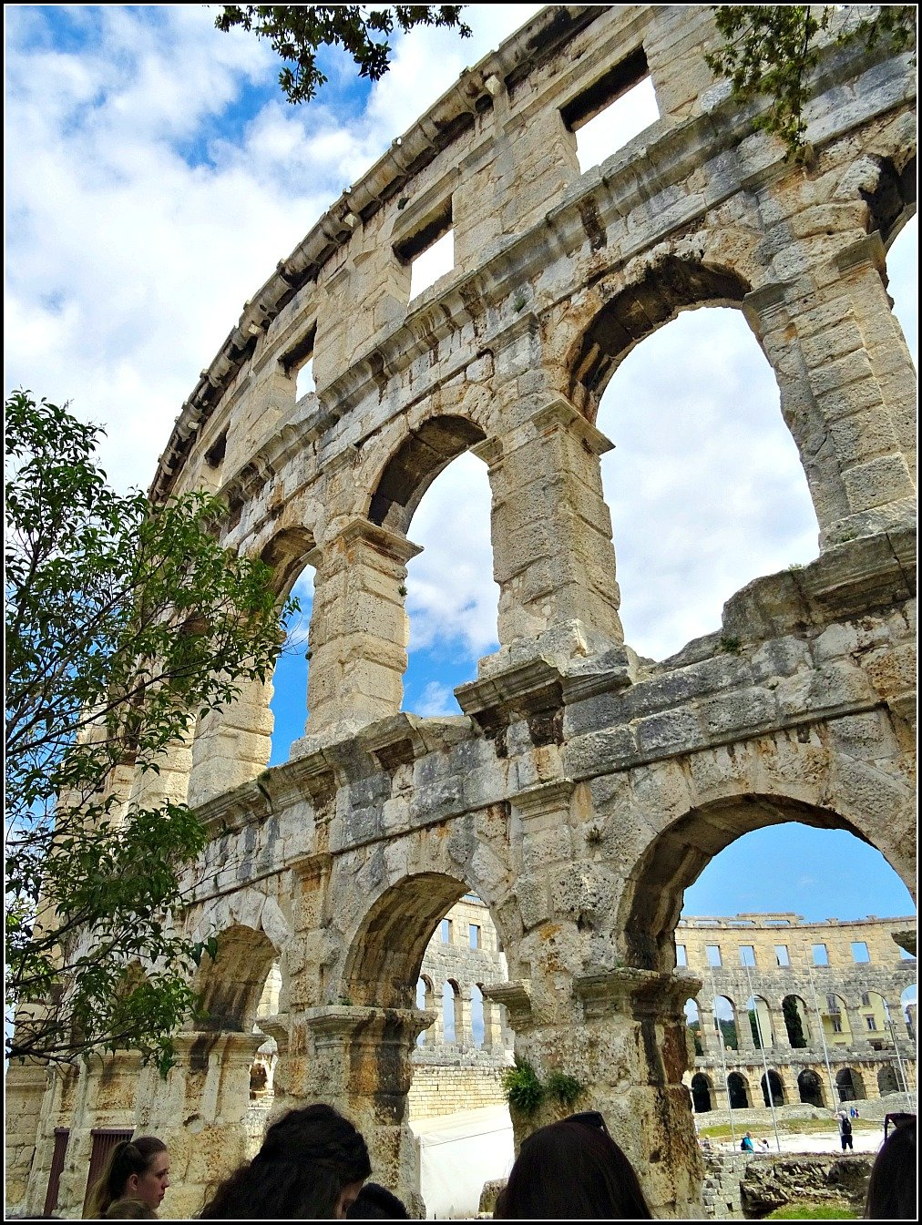 Pula Arena Outside In
