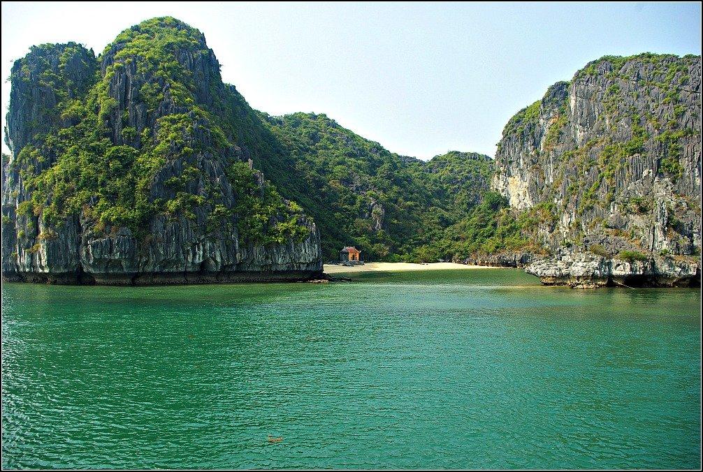 Lan Ha Bay Island Shrine Vietnam