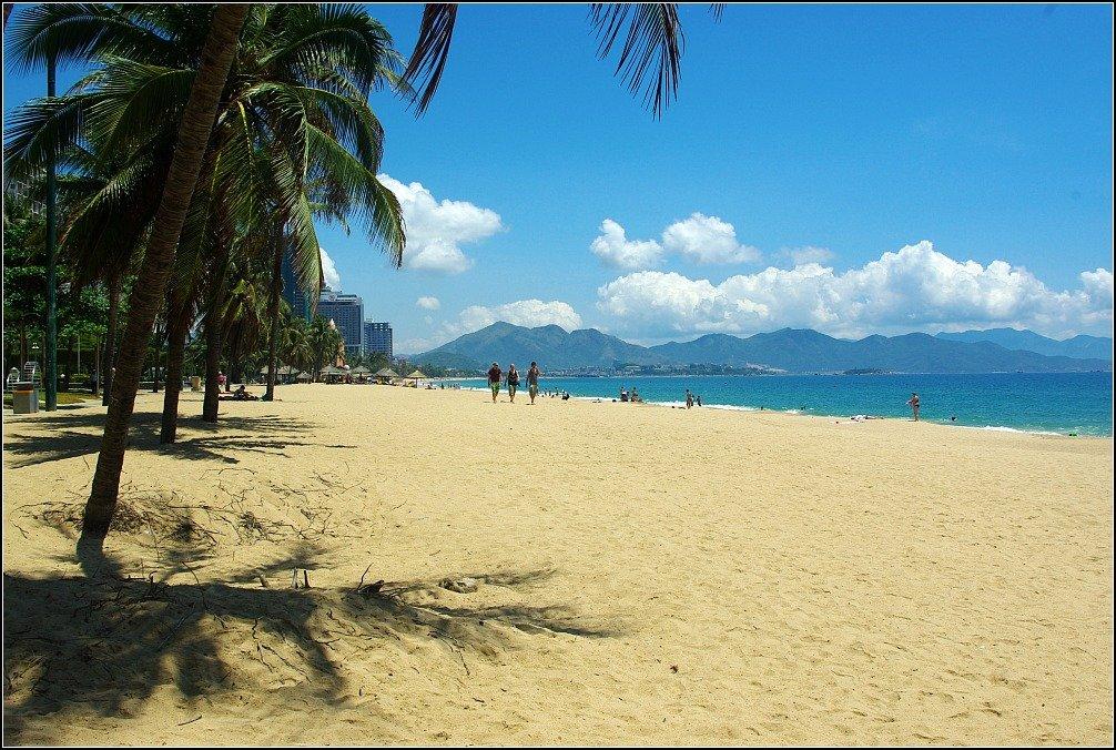 Vietnam Nha Trang Beach Bright