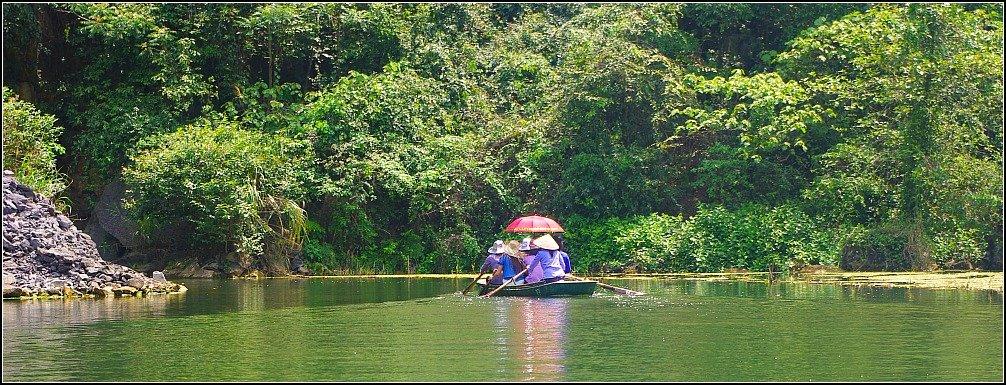Trang An Cave Boats Ninh Binh