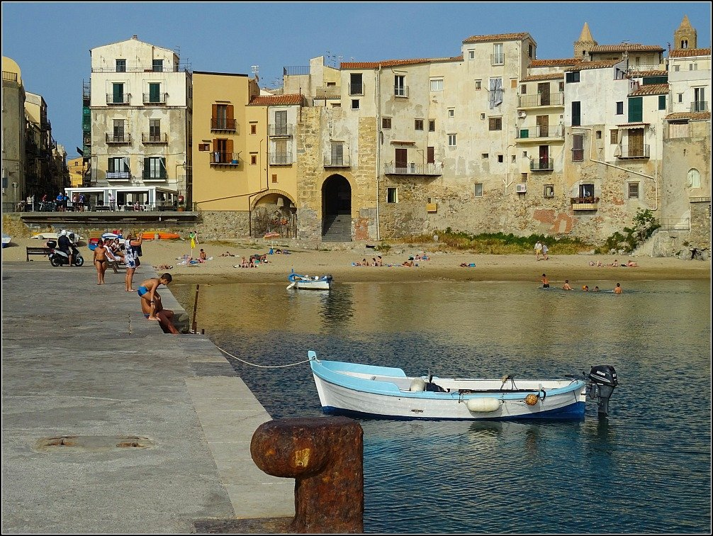 Cefalu Fishing Port