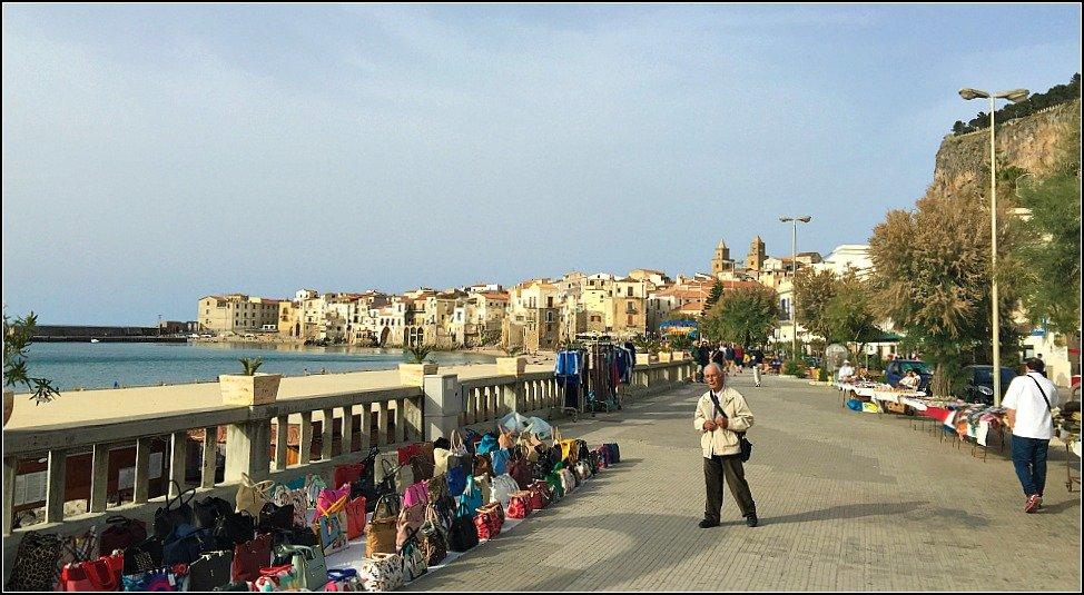 Cefalu Seafront Promenade