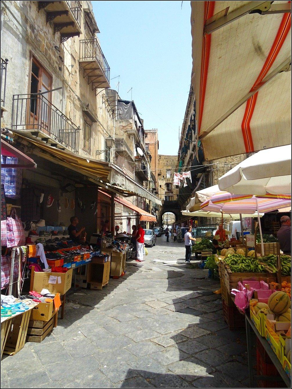 Mercato del Capo and Porta Carini Palermo, Sicily