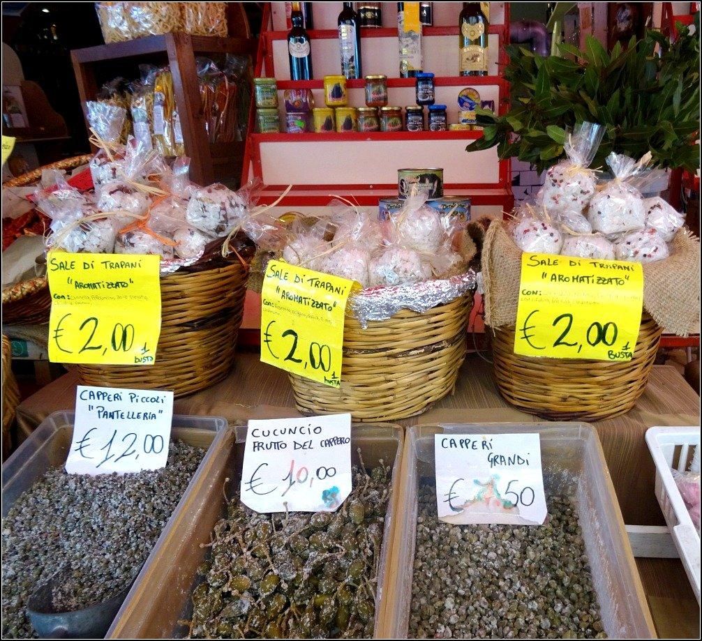Trapani Salt & Capers Palermo Sicily
