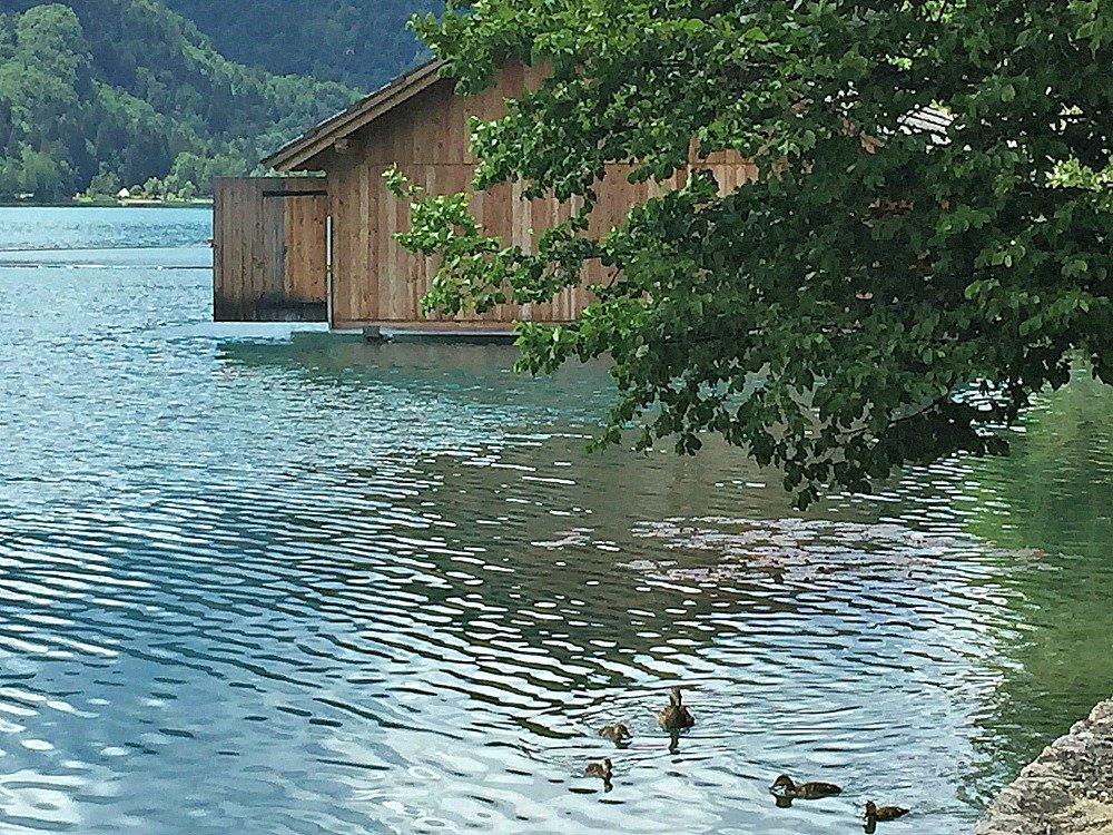 Lake Bled Boat House