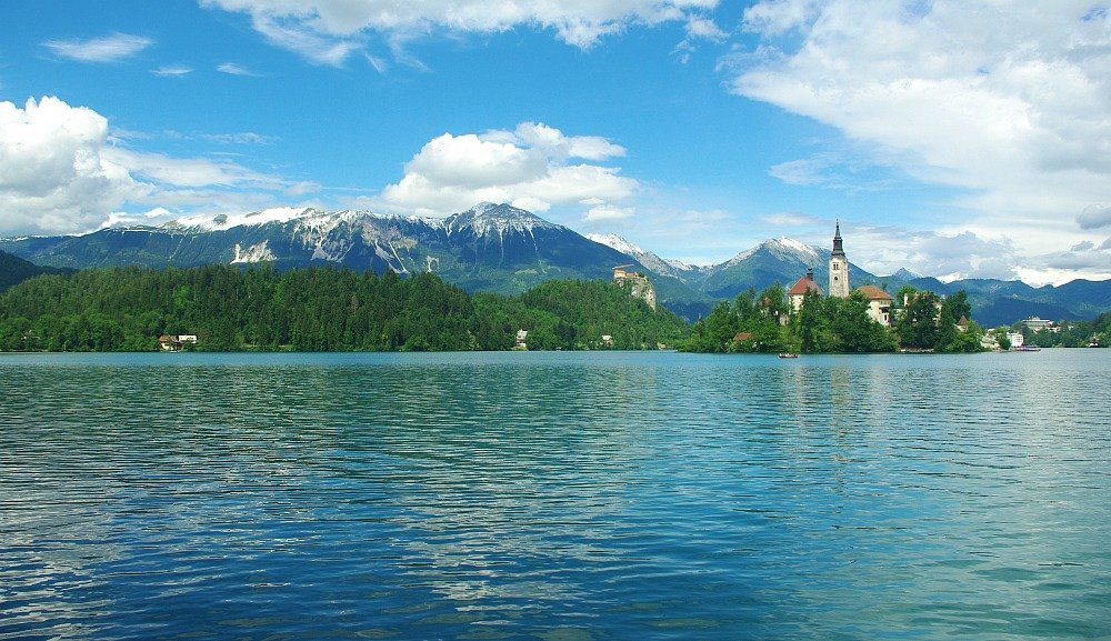 Lake Bled Panorama Slovenia