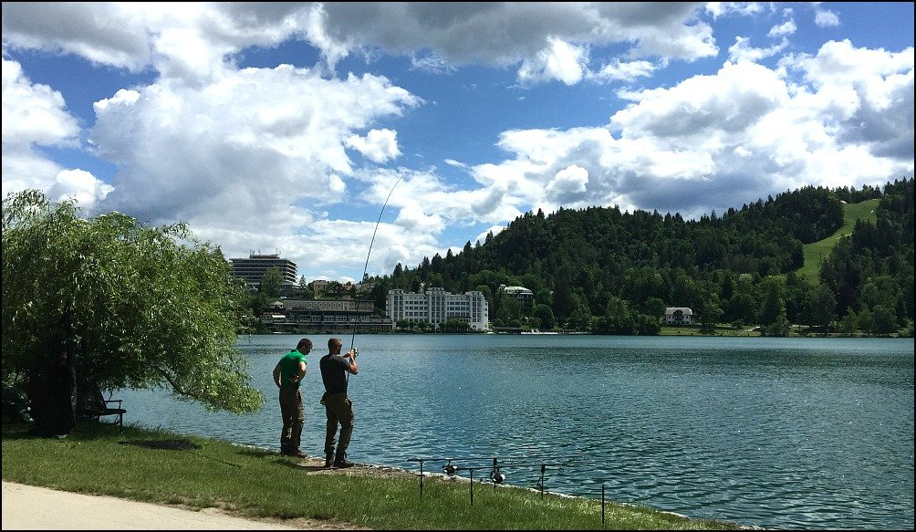 Lake Bled and Fishermen