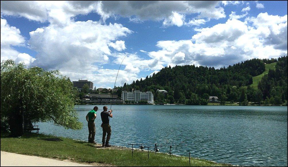 Lake Bled and Fishermen