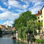Charming Ljubljana with her River and Bridges