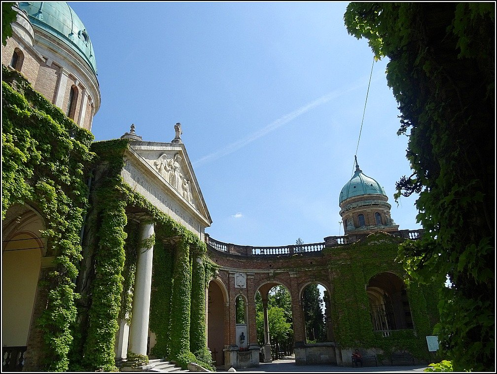 Mirogoj Church and Dome on Southern Arcade