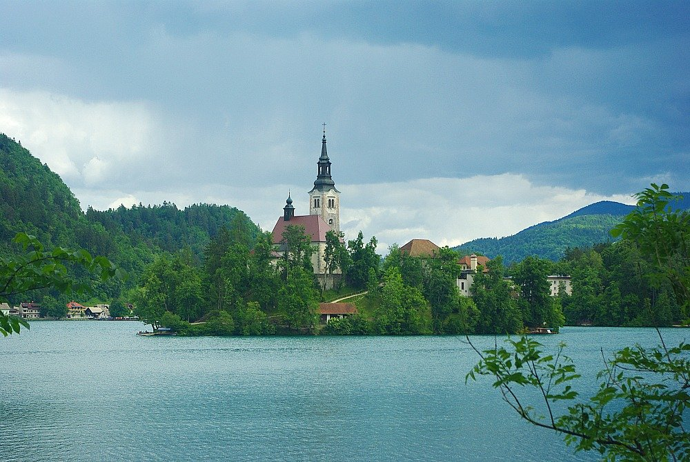 Church of the Assumption Lake Bled