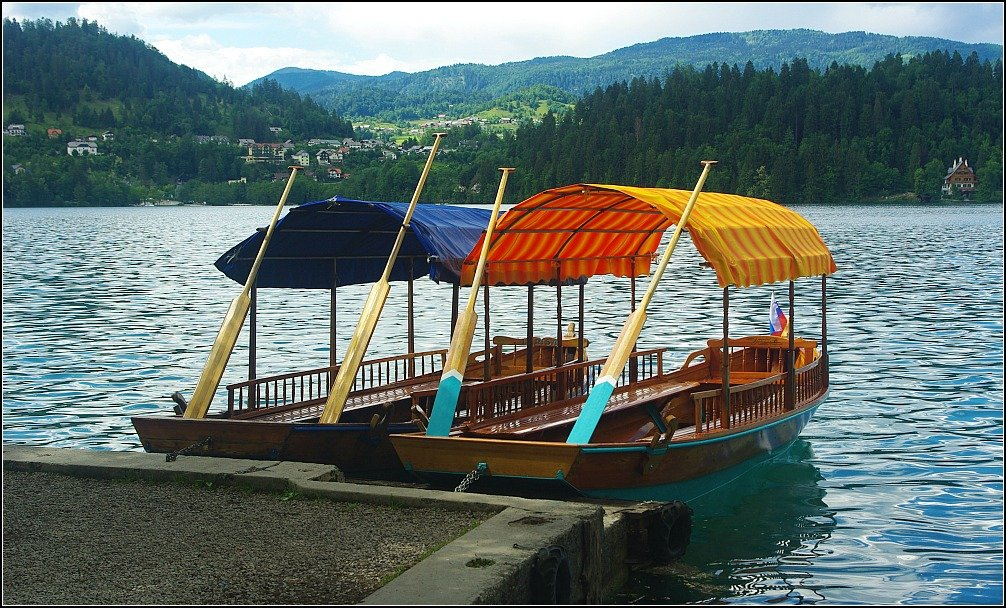 Lake Bled Row Boats