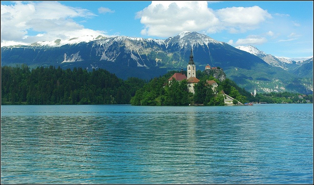 Triglav and Bled Island