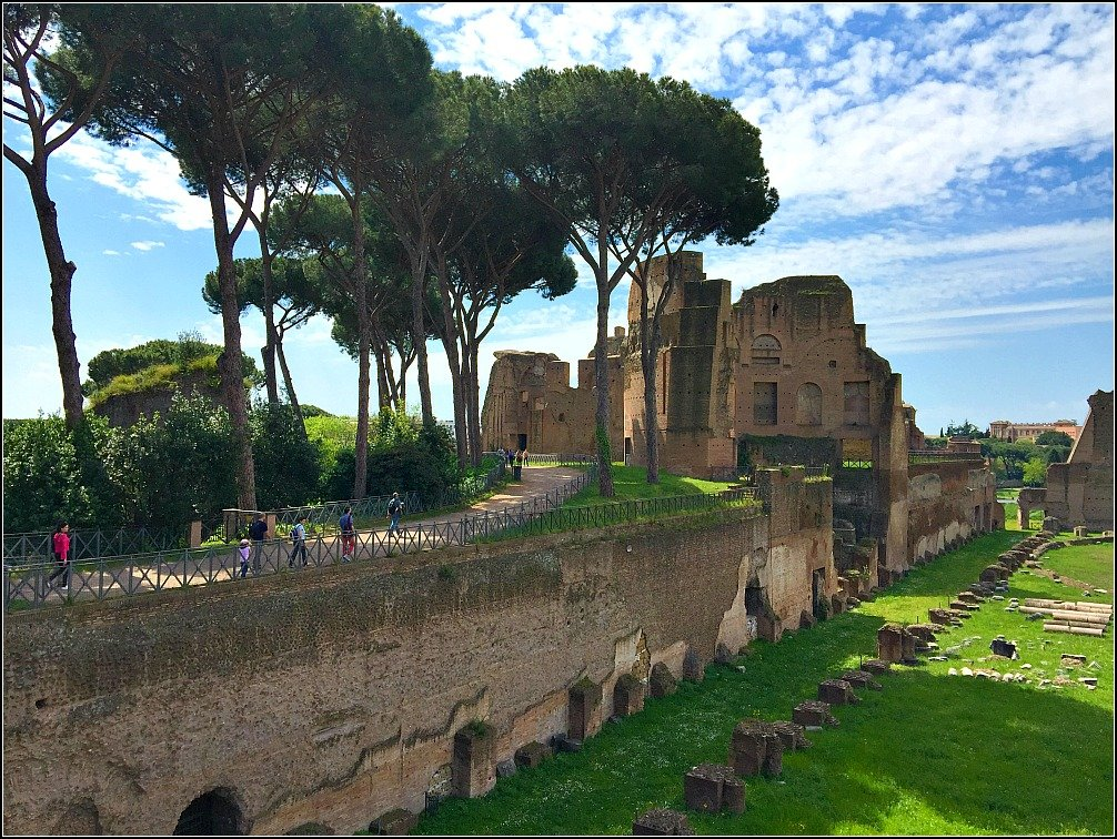 Palatine Imperial Garden Rome