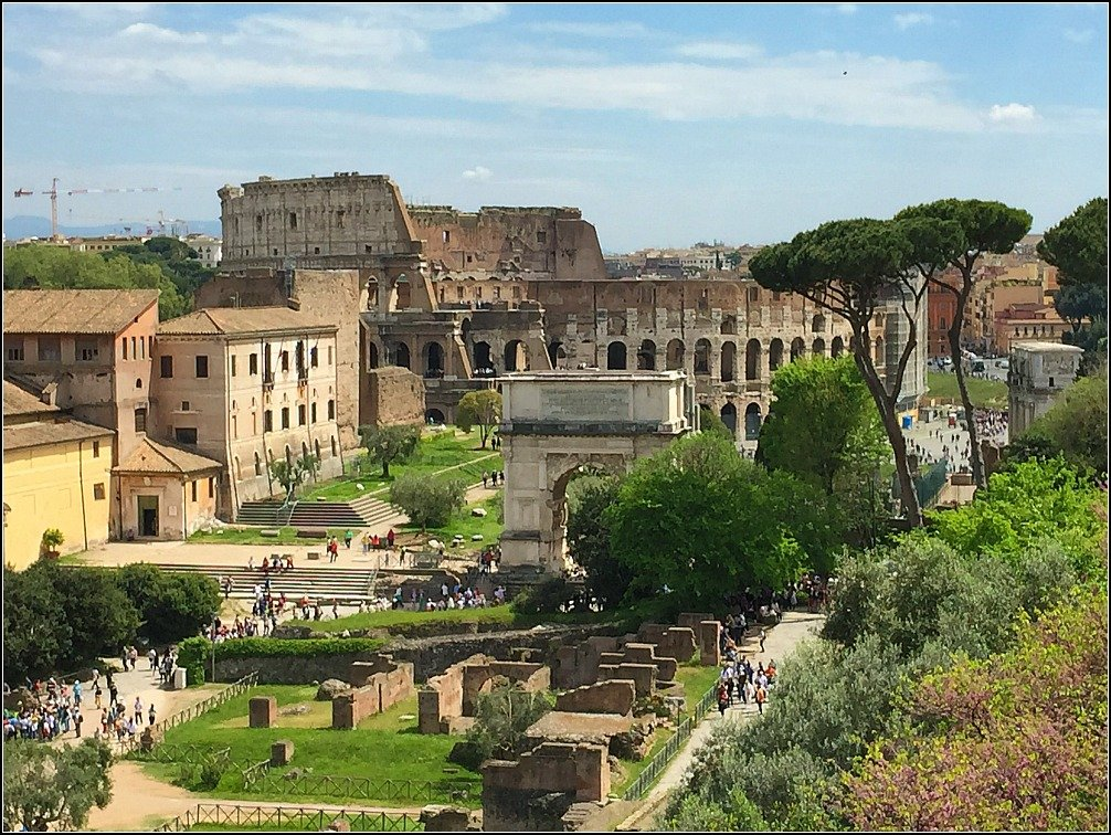 Palatine View of Colosseum