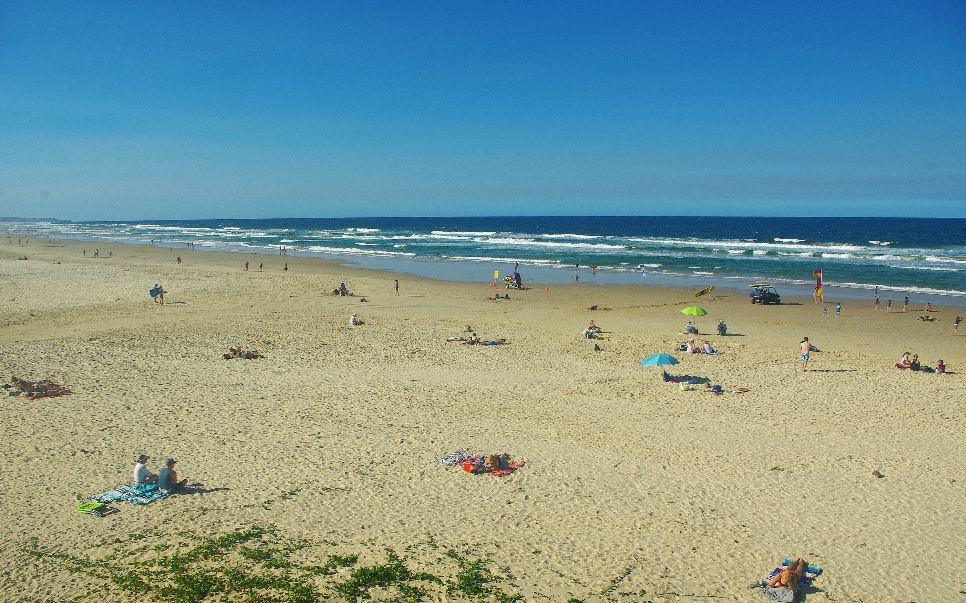 Coolum Beachgoers