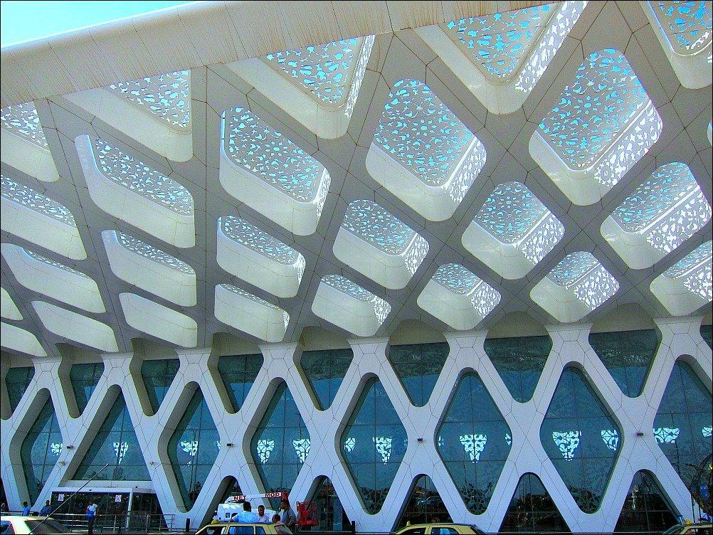 Marrakech Menara Airport Exterior