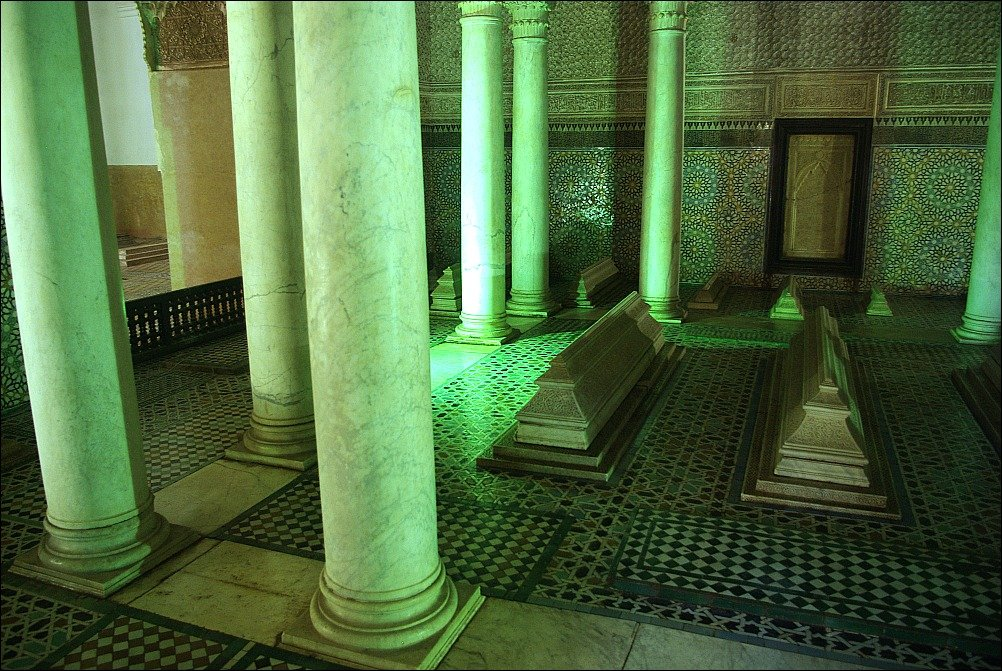 Marrakech Inside the Saadian Tombs